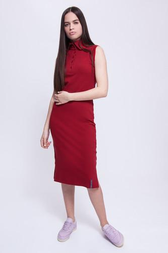 Платье ASTRONAUTICS1961 Model «С» (Бордовый/Красный, L)