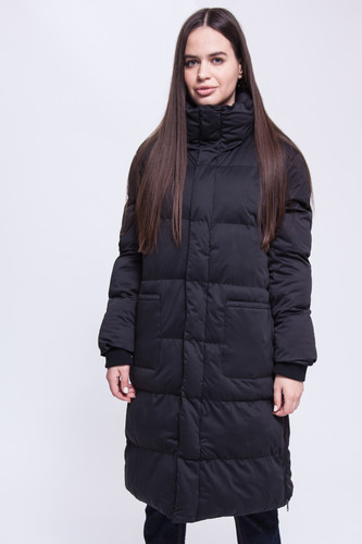 цена Куртка URBAN CLASSICS Ladies Oversized Puffer Coat женская (Black, M) онлайн в 2017 году