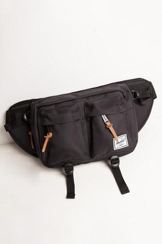 Сумка поясная HERSCHEL Eighteen 10018 (Black 1) удобная поясная сумка на ремень цвет army green