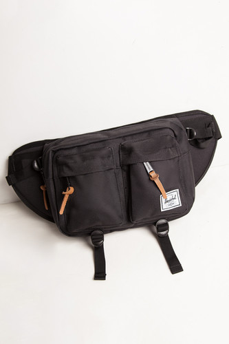 Сумка поясная HERSCHEL Eighteen 10018 (Black 1) сумка herschel 10017 01579 black grid