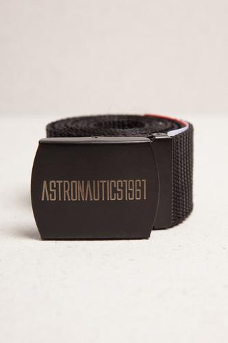 Ремень ASTRONAUTICS1961 Model 2 (Черный/Матовый Черный, 120 см)