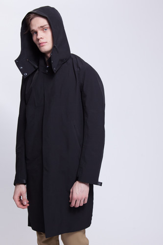 Куртка KRAKATAU Bleriot Q155 (Черный-1, XL) тренчкот короткий