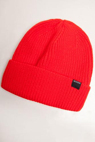 Шапка NIXON Regain (Red) шапка nixon smoky beanie red paper