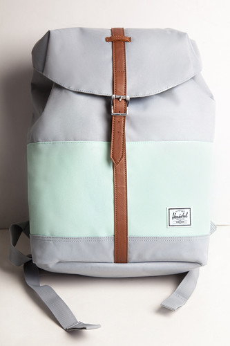 Рюкзак HERSCHEL Post Mid-Volume 10021 (Quarry/Yucca/Tan Synthetic Leather) стоимость