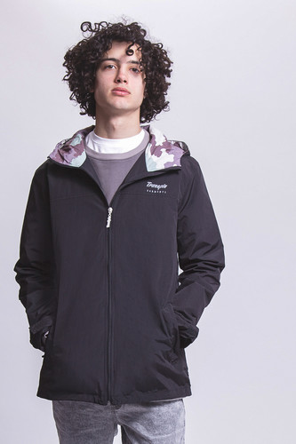 Ветровка TRUESPIN Rain Jacket Deep Black фото 7