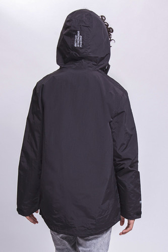 Ветровка TRUESPIN Rain Jacket Deep Black фото 8