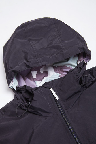 Ветровка TRUESPIN Rain Jacket Deep Black фото 9