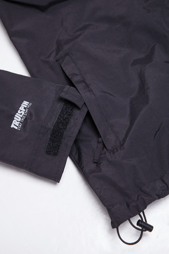 Ветровка TRUESPIN Rain Jacket Deep Black фото 11