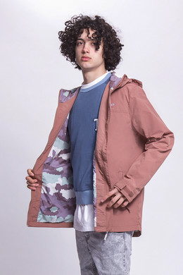 Ветровка TRUESPIN Rain Jacket Twilight Mauve фото