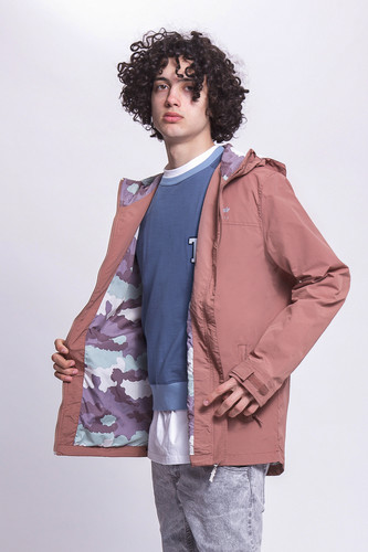 Ветровка TRUESPIN Rain Jacket Twilight Mauve фото 7
