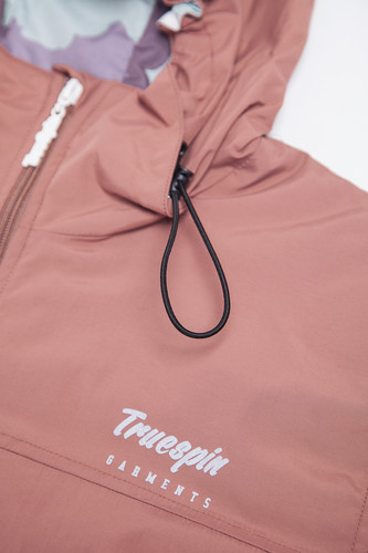 Ветровка TRUESPIN Rain Jacket Twilight Mauve фото 12
