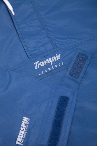 Анорак TRUESPIN Flow Print Nightshadow Blue фото 14