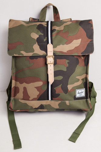 Рюкзак HERSCHEL City Mid-Volume 10089 (Woodland Camo/Black/White)