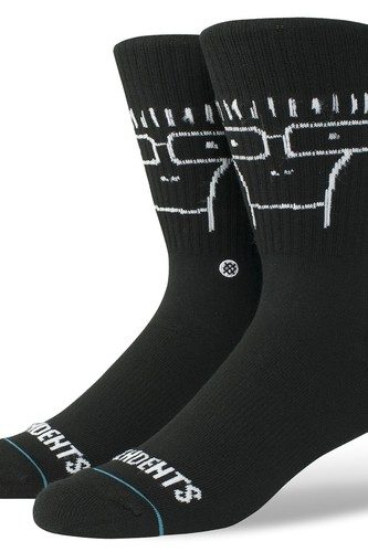Носки STANCE FOUNDATION DESCENDENTS (Black) носки stance blue foundation bushleague grey
