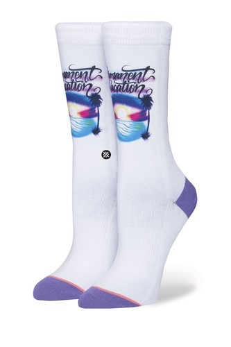 Носки STANCE ANTHEM WOMENS PERMANENT VACATION (White)