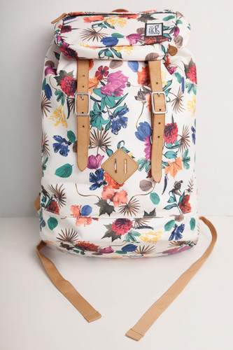 Рюкзак THE PACK SOCIETY Premium Backpack FW16 Multicolor Flower Allover фото 8
