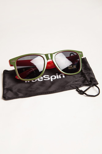 Очки TRUESPIN Camofarer Green/Red фото 7