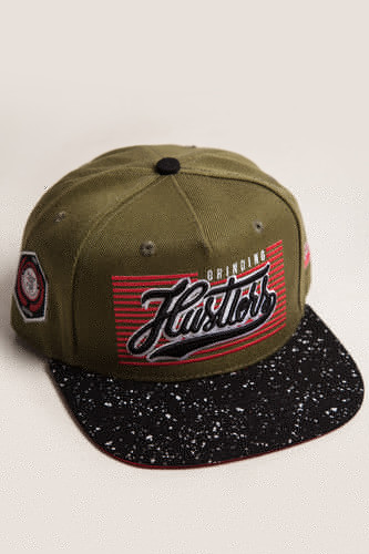цены на Бейсболка TRUESPIN Splatter Hustlers (Dark Green, O/S)  в интернет-магазинах