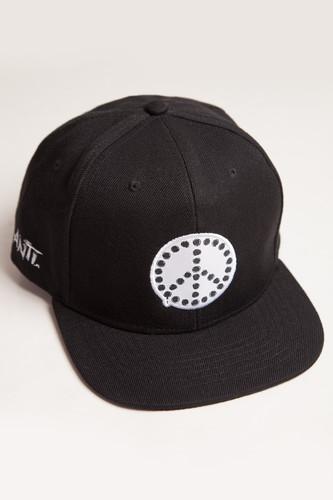 Бейсболка TRUESPIN Anti Peace (Black, O/S)