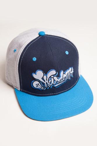 Бейсболка TRUESPIN Wisdom Strapback (Black/Blue, O/S) бейсболка truespin wisdom strapback black blue o s