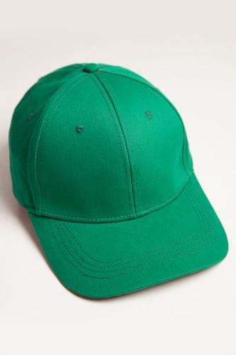 Бейсболка TRUESPIN Basic Baseball (Green, O/S)