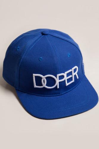 купить Бейсболка TRUESPIN Doper Snapback (Royal, O/S) по цене 490 рублей