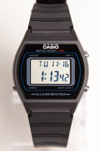 Часы CASIO W-202-1A 3294 (Черный) casio w 202 1a