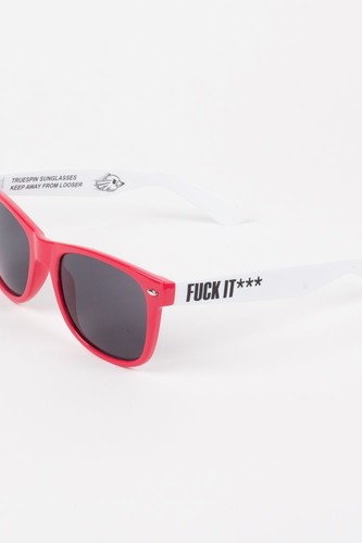 Очки TRUESPIN Fck (Red-White)