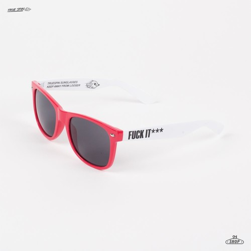 Очки TRUESPIN Fck (Red-White) свитшот print bar fck u dust