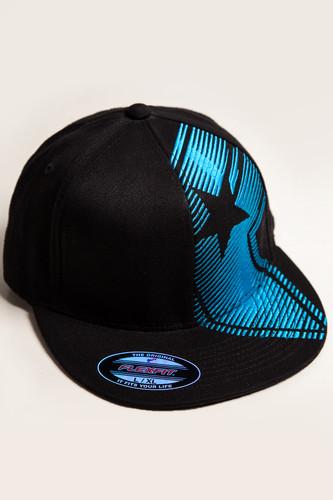 купить Бейсболка FAMOUS Motion Boh Flex Fit (Black-Turquoise, S/M) по цене 795 рублей