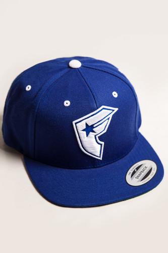 Бейсболка FAMOUS Official Boh Snapback (Royal-White, O/S)