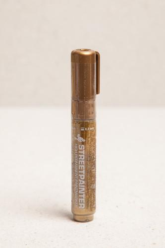 Маркер OTR.036 Streetpainter (Chrome Gold, 8 мм) маркер otr 005 soultip empty 10 мм
