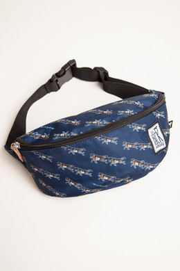 Сумка THE PACK SOCIETY Bum Bag 181CPR782 Dark Blue Wolf Allover 75 фото