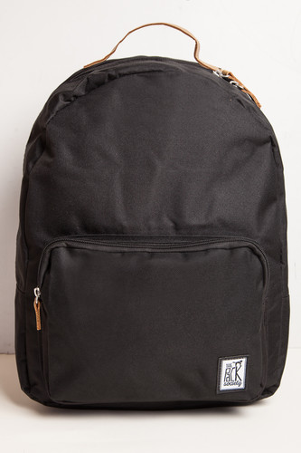 Рюкзак THE PACK SOCIETY Classic Backpack 999CLA702 (Solid Black-01)