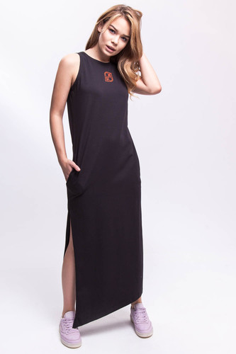 Платье ONE TWO Гравитация 2.0 (Черный, M)