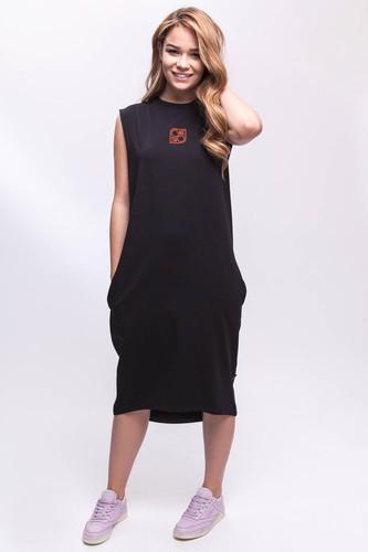 Платье ONE TWO Высота 2.0 (Черный, M)