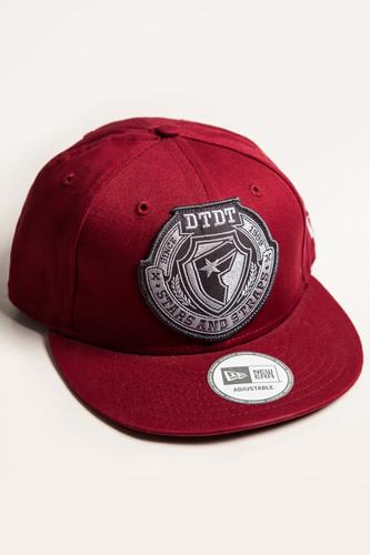 Бейсболка FAMOUS Fms Division Snap (Burgundy-Grey, O/S) цена