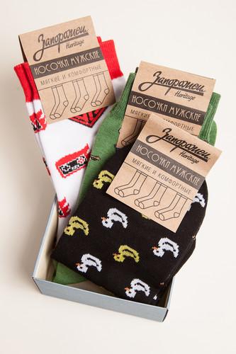 Носки ЗАПОРОЖЕЦ Комплект Джойстики (Разноцветный, O/S) размер носков s
