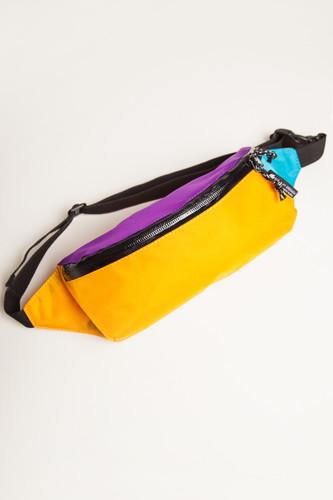 Сумка Гоша Орехов Minimal+Color Fanny Waist Pack (Фиолетовый/Желтый/Бирюзовый-02103)