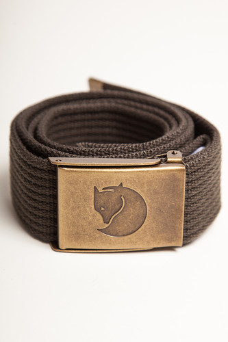 Ремень FJALLRAVEN Canvas Belt 4cm (Mountain Grey-032, O/S)