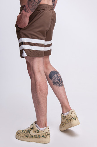 Шорты TRUESPIN Board Shorts Brown фото 12