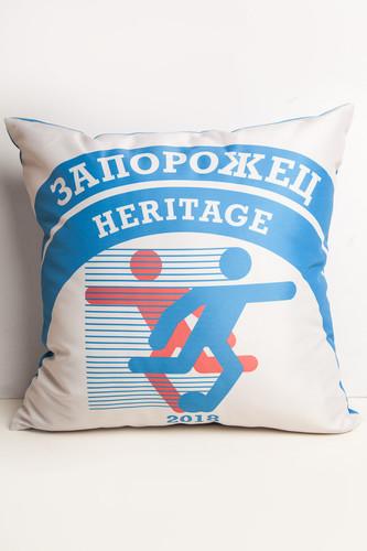 Фото - Подушка ЗАПОРОЖЕЦ Heritage (Голубой/Белый) носки запорожец heritage запорожец heritage za008fmarnu1