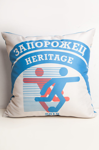 все цены на Подушка ЗАПОРОЖЕЦ Heritage (Голубой/Белый) онлайн