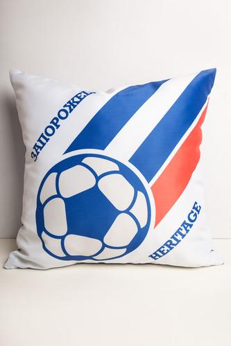 все цены на Подушка ЗАПОРОЖЕЦ Мяч С Полосками (Синий/Белый) онлайн