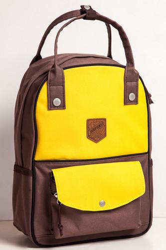 Рюкзак ЗАПОРОЖЕЦ Olimpiada 80 (Yellow/Brown)