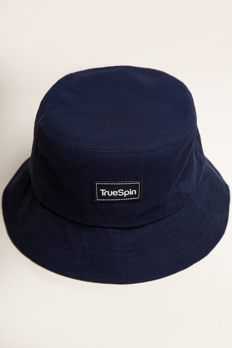 Панама TRUESPIN Plain Buckets Navy фото 4