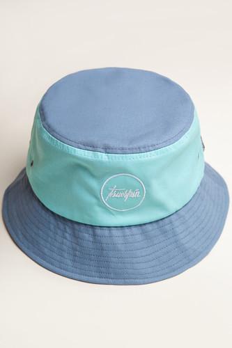 Панама TRUESPIN Script Bucket (Blue, L/XL) панама truespin jungle bucket hat jungle camo l xl