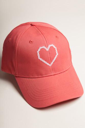 купить Бейсболка TRUESPIN True Love (Red, O/S) по цене 732 рублей