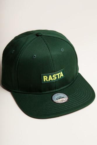 Бейсболка TRUESPIN Rasta Snap (Green, O/S) бейсболка truespin rap snap black o s