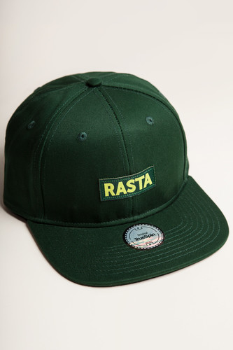 цена Бейсболка TRUESPIN Rasta Snap (Green, O/S) онлайн в 2017 году